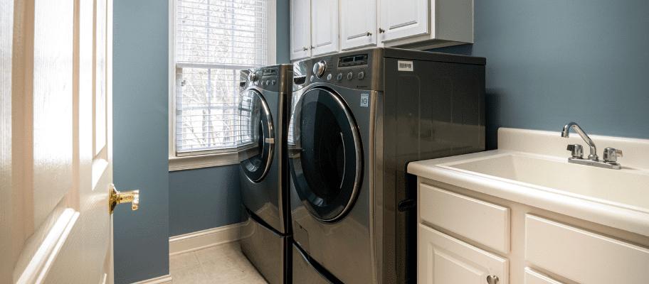 Twin washing machines
