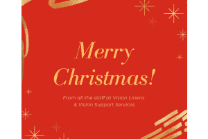 Merry Christmas 2020 from Vision Linens & Vision Support Services