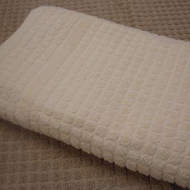 Mosaic Ecru Coloured 100% Cotton Bath Mat *Special Offer* (In Single Packs)