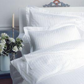 VV300 1cm Satin Stripe 100% Cotton Duvet Cover