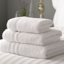 Hotel Pure Luxury 650 GSM 100% Combed Cotton Hand Towel (In Packs of 2)