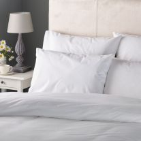 Hotel Pure Luxury 144 Thread Count Polycotton Housewife Pillowcase (In Packs of 2)