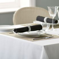 Riegel 100% Spun Polyester Coloured Napkin (In Packs of 50)