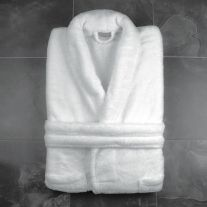 300 GSM 100% Microfibre Bathrobe