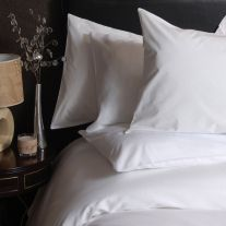 Hotel Pure Luxury 300 Thread Count 100% Cotton Sateen Pillowcase (In Packs of 2)