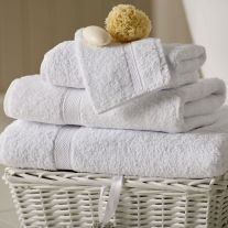 Hotel Pure Luxury 600 GSM 100% Turkish Cotton Face Cloth (In Packs of 5)