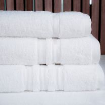 Hotel Pure Luxury 650 GSM 100% Turkish Combed Cotton Face Cloth (In Packs of 5)