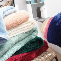 V475 100% Cotton Coloured Hand Towels (In Packs of 10)