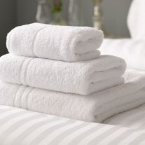 Hotel Pure Luxury 500 GSM 100% Turkish Cotton Hand Towel (In Packs of 2)