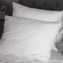 Flame Retardant 100% Cotton Weave Quilted Pillow