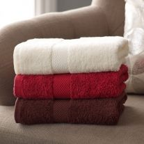 Hotel Pure Luxury Coloured 475 GSM 100% Cotton Bath Towel (In Single Packs)