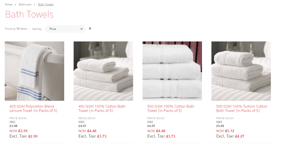 Vision Linens members prices