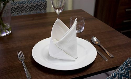 bishops hat npakin fold