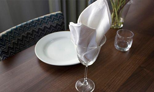 lily goblet napkin fold