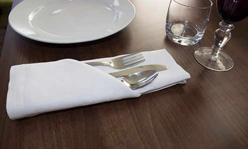 the pouch napkin fold