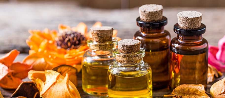 natural scents for finishing touchings